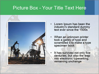 Working oil pumps PowerPoint Template - Slide 13
