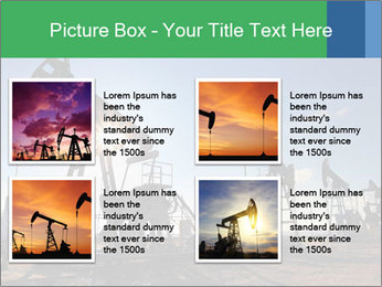 Working oil pumps PowerPoint Template - Slide 14