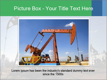 Working oil pumps PowerPoint Template - Slide 15