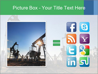 Working oil pumps PowerPoint Template - Slide 21