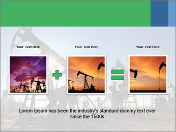 Working oil pumps PowerPoint Template - Slide 22