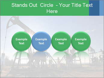 Working oil pumps PowerPoint Template - Slide 76