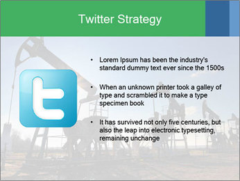Working oil pumps PowerPoint Template - Slide 9