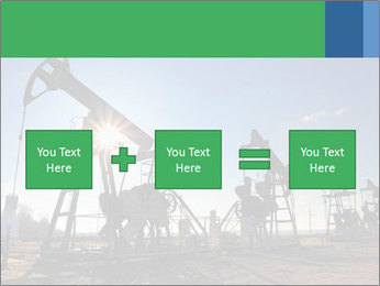 Working oil pumps PowerPoint Template - Slide 95