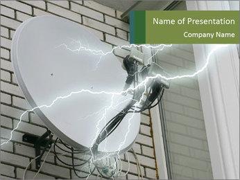 Lightning PowerPoint Template - Slide 1