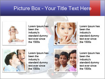 Little boy PowerPoint Template - Slide 14