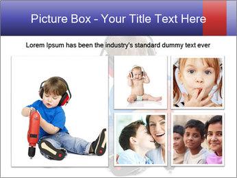 Little boy PowerPoint Template - Slide 19