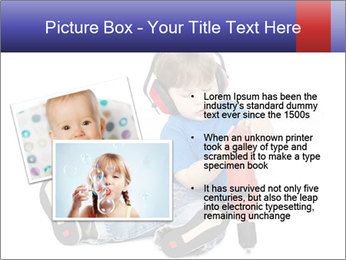 Little boy PowerPoint Template - Slide 20