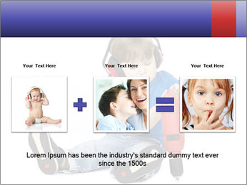Little boy PowerPoint Template - Slide 22