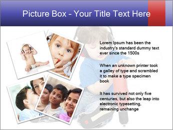 Little boy PowerPoint Template - Slide 23