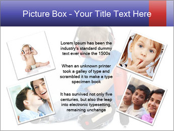 Little boy PowerPoint Template - Slide 24