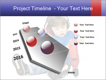 Little boy PowerPoint Template - Slide 26