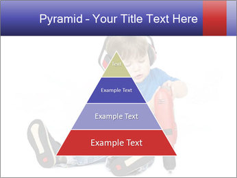 Little boy PowerPoint Template - Slide 30