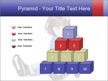 Little boy PowerPoint Template - Slide 31