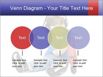 Little boy PowerPoint Template - Slide 32