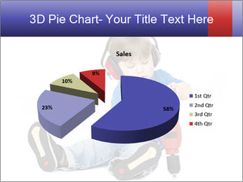 Little boy PowerPoint Template - Slide 35