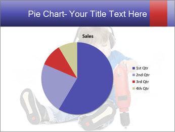 Little boy PowerPoint Template - Slide 36
