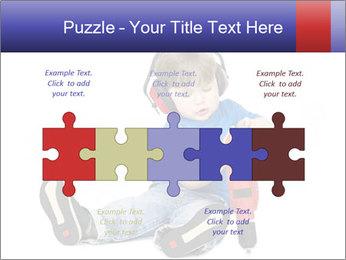 Little boy PowerPoint Template - Slide 41