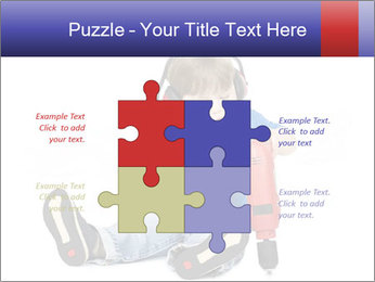Little boy PowerPoint Template - Slide 43