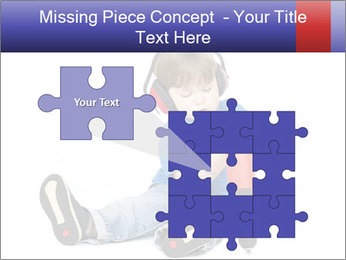 Little boy PowerPoint Template - Slide 45