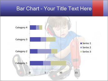 Little boy PowerPoint Template - Slide 52
