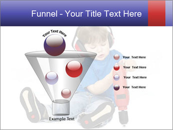 Little boy PowerPoint Template - Slide 63