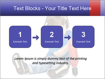 Little boy PowerPoint Template - Slide 71