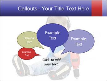 Little boy PowerPoint Template - Slide 73