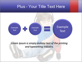 Little boy PowerPoint Template - Slide 75