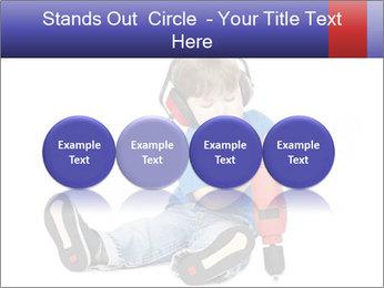 Little boy PowerPoint Template - Slide 76