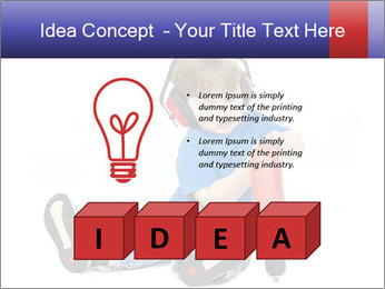 Little boy PowerPoint Template - Slide 80