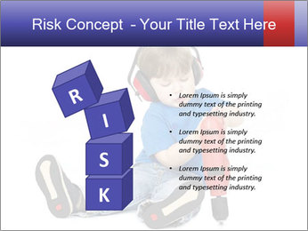 Little boy PowerPoint Template - Slide 81
