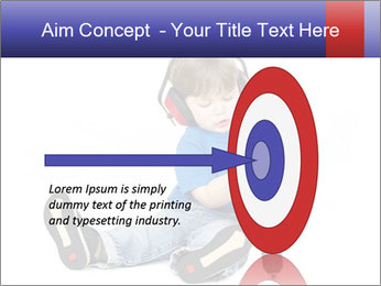 Little boy PowerPoint Template - Slide 83