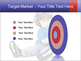 Little boy PowerPoint Template - Slide 84