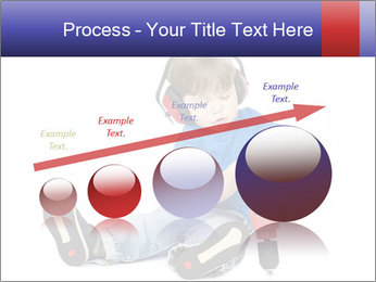 Little boy PowerPoint Template - Slide 87