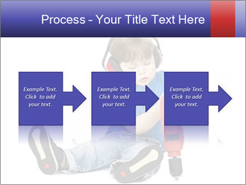 Little boy PowerPoint Template - Slide 88