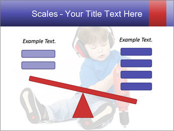 Little boy PowerPoint Template - Slide 89