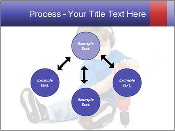 Little boy PowerPoint Template - Slide 91