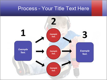Little boy PowerPoint Template - Slide 92