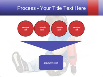 Little boy PowerPoint Template - Slide 93