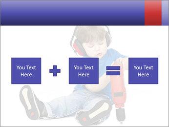 Little boy PowerPoint Template - Slide 95