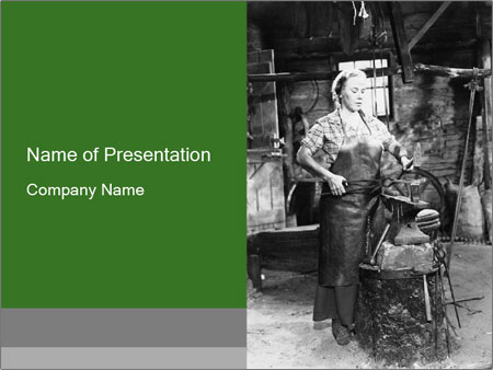Female PowerPoint Template