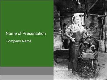 Female PowerPoint Template - Slide 1