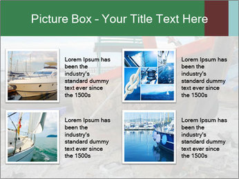 Fishing boat on the beach PowerPoint Template - Slide 14