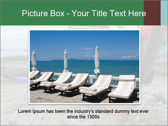 Fishing boat on the beach PowerPoint Template - Slide 15