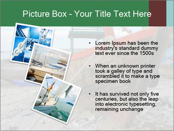 Fishing boat on the beach PowerPoint Template - Slide 17
