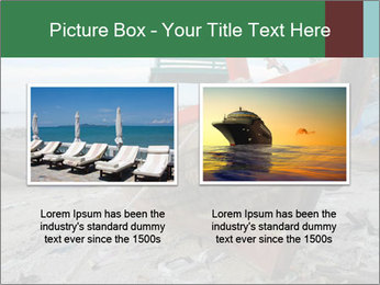 Fishing boat on the beach PowerPoint Template - Slide 18