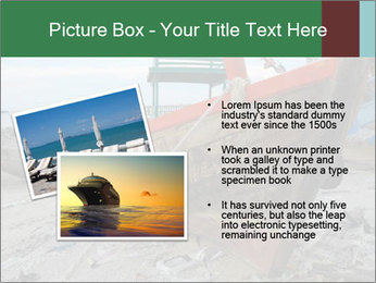 Fishing boat on the beach PowerPoint Template - Slide 20