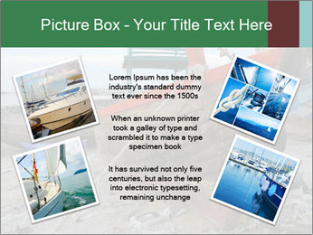 Fishing boat on the beach PowerPoint Template - Slide 24