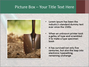 Soil with shovel PowerPoint Templates - Slide 13